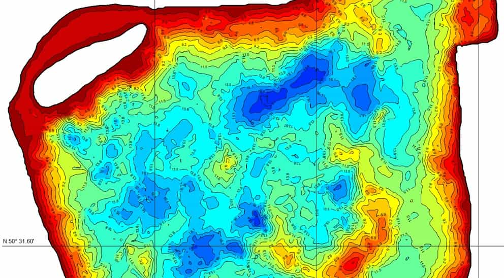 Промер глубин водоемов эхолотом в Иваново
